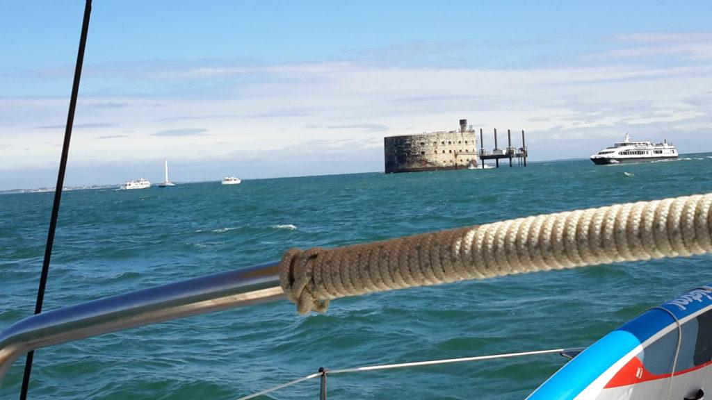 Balade nautique au Fort Boyard