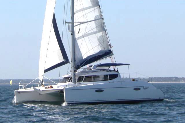 promenade en bateau avec un catamaran