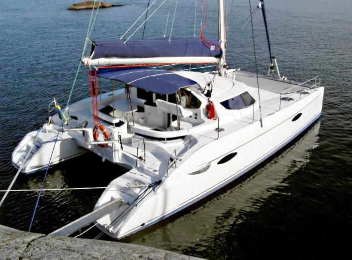 "Le catamaran ""PACO II"""