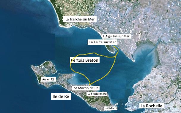 St Martin de Ré et le Pertuis Breton